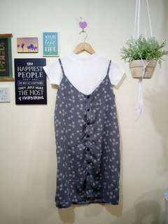 printed dress (inner not included)