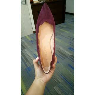 Staccato Maroon Shoes