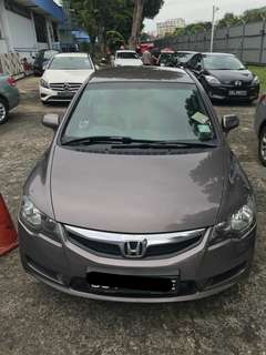 Honda Civic 1.6 Daily, Weekends, Weekly & Monthly.