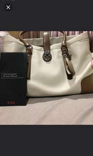 Authentic Tumi villa turin tote bag