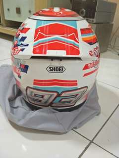 Shoei z-7 Marquez Power Up!