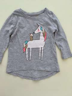 COTTON ON Unicorn Top
