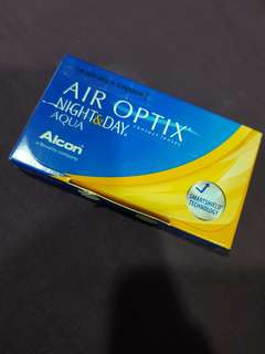 Air Optix Night & Day Extended Wear Contacts