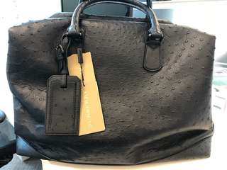 Burberry travel bag exotic item