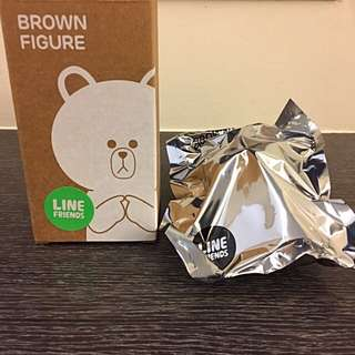 LINE FRIENDS 正版熊大公仔 BROWN FIGURE
