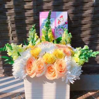 Vase bouquet