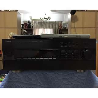 Yamaha RX V2092 7.1 Channel 550 Watts Home Theater Receiver (with two remote controls)