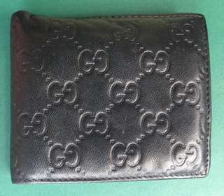 Authentic GUCCI Mens 2FOLD Wallet