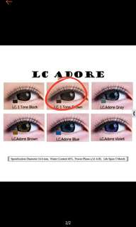 Softlens living color BROWN ONE TONE