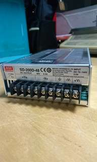 Mean Well DC/DC Power Supply SD-200D-48