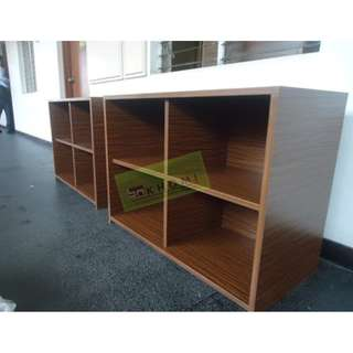 CUSTOMIZE CABINET AND RECEPTION TABLE - MAHOGANY--KHOMI