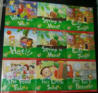 (New)Shared Reading Programme(Mice Series)6Books (Pearson)