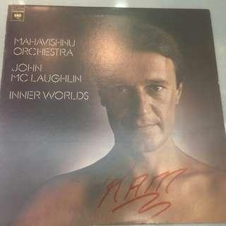 Mahavishnu Orchestra / John McLaughlin – Inner Worlds, Vinyl LP , Columbia – PC 33908, 1976, USA