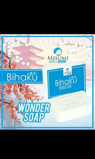 Bihaku Wonder Soap + Bihaku Wonder Lotion + Bihaku Wonder Bleac