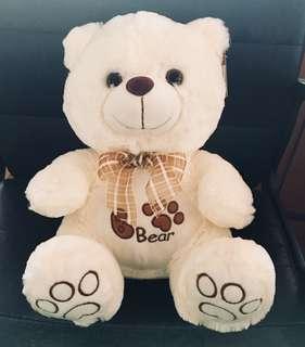 New Cuddly Huggable Bear