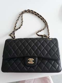 Free shipping! Chanel Flap Bag Black