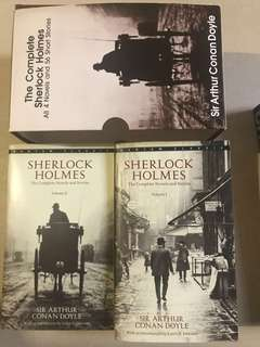 Sherlock Holmes The Complete Novels and Stories Volumes 1 and 2 (FREE SHIPPING NATIONWIDE)