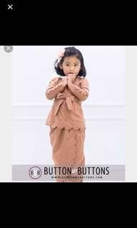 Scallop Bow Kurung Buttonmybuttons