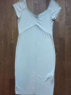 Zara light grey dress