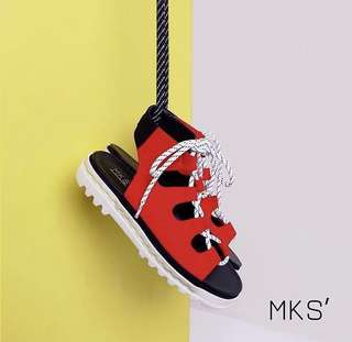 MKS Shoes G. Ghillie Race Red Size 38 (fits to 39)