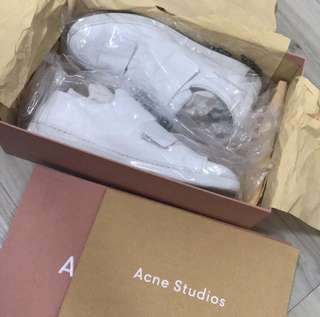 Acne studio  ANX 3 STRAPS SNEAKER