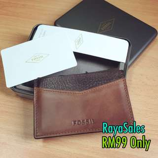 Sales New Fossil Cardcase