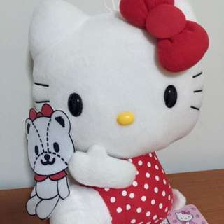 NWT Hello Kitty in Red with White Dots Dress