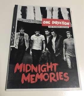 🌺 (WTS) UNSEALED One Direction Midnight Memories Album
