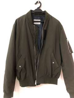 Zara Bomber Jacket(army green)