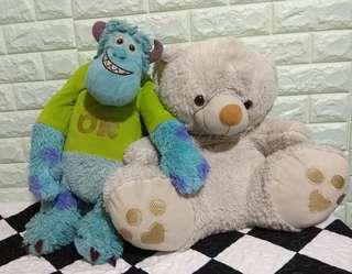 Teddy Bear and Monster Inc.