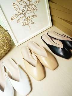 Lola Square-toed Mules