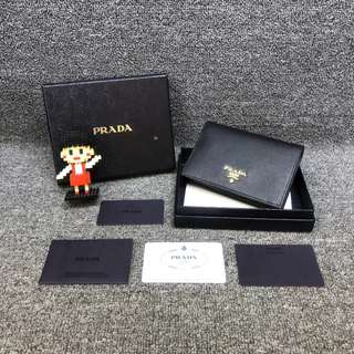💯% Authentic Prada Wallet