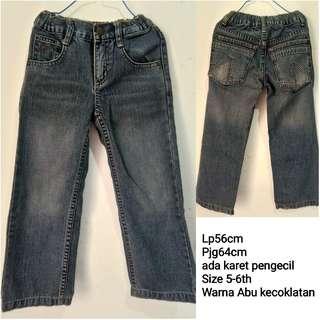 Celana Jeans Anak 5-6th