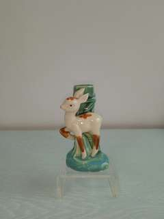 70s Clay Deer Height 11cm Perfect condition