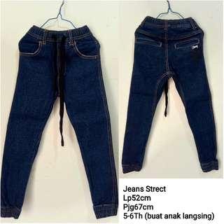Celana Jeans Anak 5-6th Joger