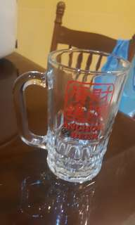 Anchor beer glass