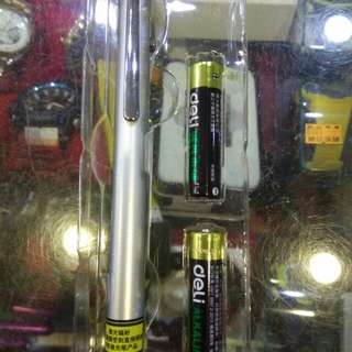 紅外線筆需裝兩顆四號電池150元限來店買點我頭像看店址和上千種商品