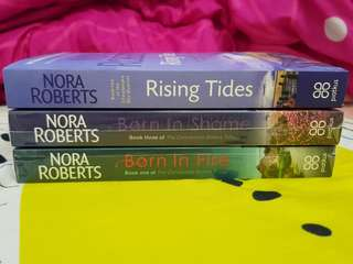[NEW] Rising Tides, Born in Shame, Born in Fire by Nora Roberts English Novels