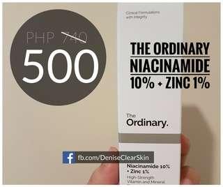 THE ORDINARY Niacinamide 10% + Zinc 1%