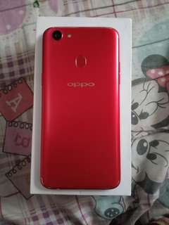 oppo f5 red