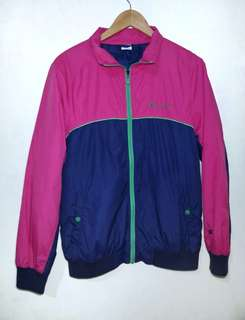 Champion color blocking windbreaker