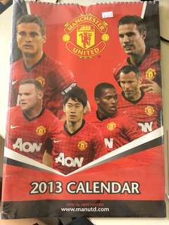 Manchester United 2013 Calendar