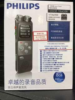 PHILIPS VTR6900 8G錄音筆立體聲