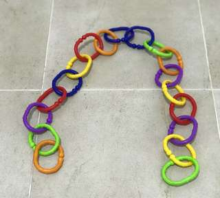 Munchkin Assorted Colours Connecting Chain