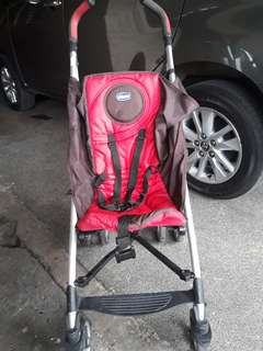 Chicco Liteway stroller  Red/brown  MUST GO!