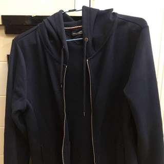 🇺🇸TOMMY HILFIGER 深藍色運動休閒外套