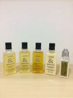 L'Occitane travel kit ORI