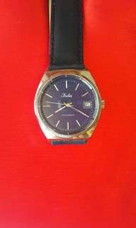 Vintages Juta Blue Dial Automatic Watch