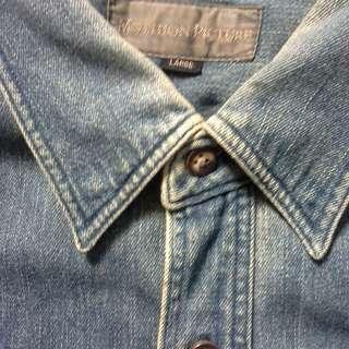 kemeja jeans mothion picture
