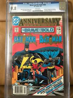 Brave and the Bold #200 CGC 9.8